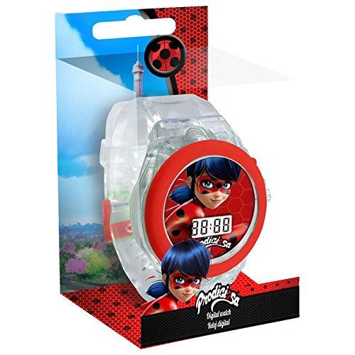 Ladybug Reloj Digital con Luz (Kids LB17057)