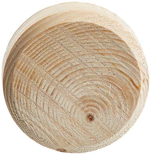 LAMELLO 157025 Astdübel-Gebirgsfichtenäste, ø 25 mm, Höhe 9 mm, Inhalt 250 Stück