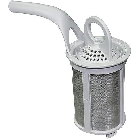AEG Arthur Martin Bendix Electrolux Faure Firenzi Husqvarna John Lewis Tricity Bendix Zanker Zanussi filtre de lave-vaisselle gris clair (numéro de pièce authentique 50297774007)