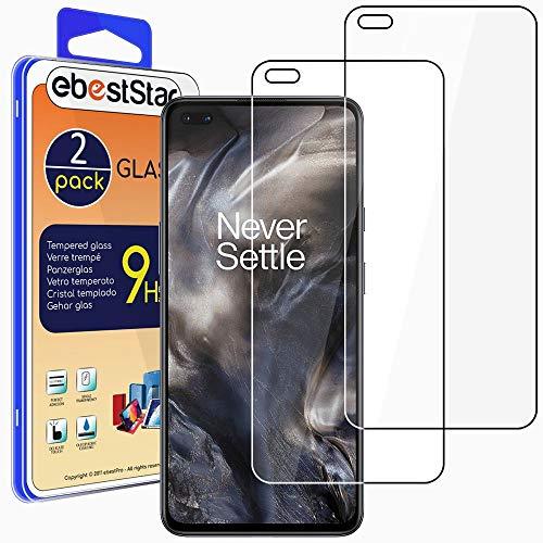ebestStar - [Lote x2 Cristal Templado Compatible con OnePlus Nord Protector de...