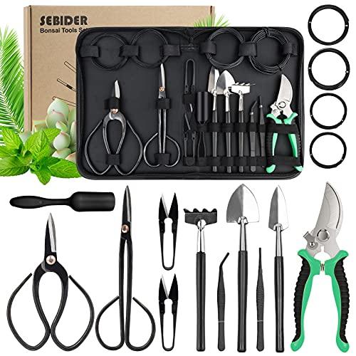 SEBIDER Bonsai Tree Kit Bonsai Tools Set