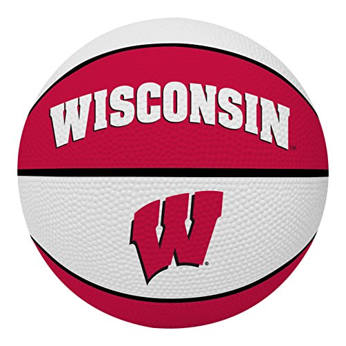 Rawlings NCAA Wisconsin Badgers Alley OOP Dunk Basketball