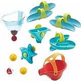 Haba 302824 Kugelbahn Badespaß – Großes Wasserlabyrinth, Kleinkindspielzeug, Wasserspielzeug