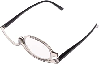 Tinaa Lunettes de Maquillage Rotatives Maquillage Lunettes Pliantes Lunettes de Lecture