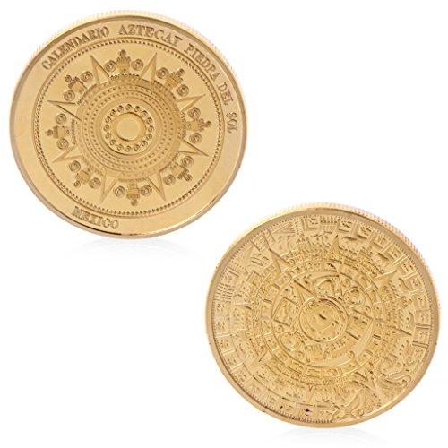 M/édaillons de la Terre Maternelle Pi/èces de Monnaie en Forme daigle Antique YunBest Pi/èce comm/émorative du Vieux Mexique de 1947