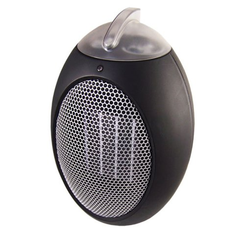 Cozy Products ESH Eco-Save Compact Personal Space Heater - 750-Watts, ETL Listed, Eco-Friendly, Energy Efficient Design, 11 x 7.5 Inches, 5 lbs.