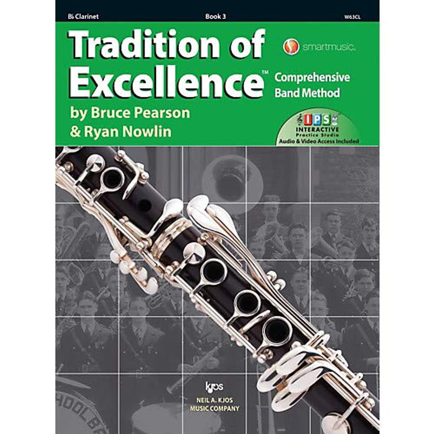 Tradition of Excellence Book 3 Clarinet Pack of 3