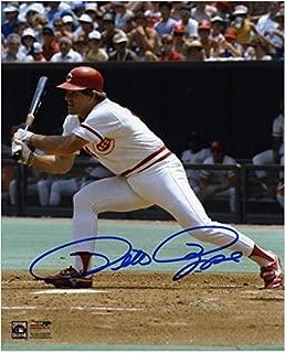 Pete Rose Cincinnati Reds Autographed 8