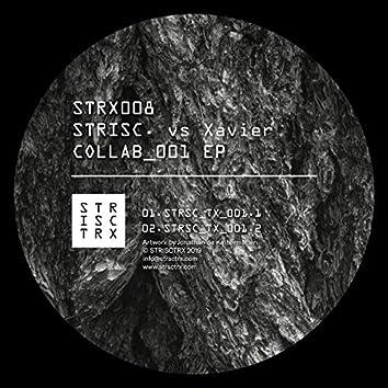 STRISC. vs XAVIER - COLLAB_001 EP
