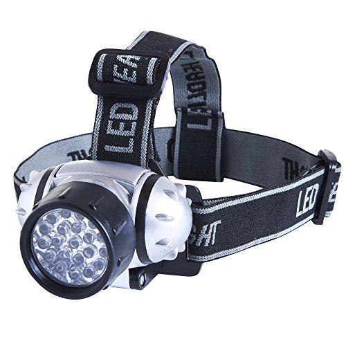 eSecure: Magnifique lampe frontale Etanche de 21 LED avec Serre-tête intégré