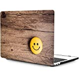 OneGET MacBook Pro 13 Inch Case with Touch Bar Laptop Case 2016 2017 2018 2019 Release A2159 A1989 A1706 A1708 Cover for MacBook Pro Case 13 Inches Hard Shell Woodgrain (S28)