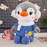 KXCAQ Creativo Lindo pingüino muñeca de Peluche de Juguete muñeca de Trapo Almohada decoración del h...