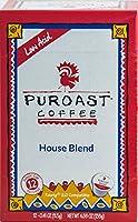 Puroast Low Acid Coffee House Blend Single Serve Coffee, Keurig Compatible, 4.88 Ounce