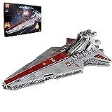 KEAYO Mould King 21005, 6685 piezas, destructor estrellado, cruz de ataque, grande, MOC, bloques de sujeción, compatible con Lego Star Wars