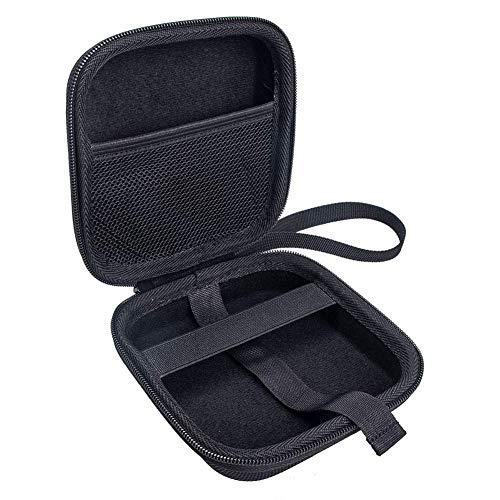Harde EVA beschermhoes draagtas voor NETGEAR Nighthawk M1 mobiele hotspot router MR1100, schokbestendig waterdicht hoesje voor externe harde schijf Power Bank USB-kabel oortelefoon Zwart