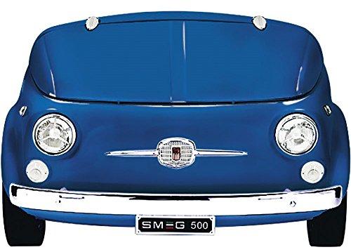 Smeg SMEG500BL Independiente 100L A+ Azul - Frigorífico (100 L, ST, 42 dB, A+, Azul)