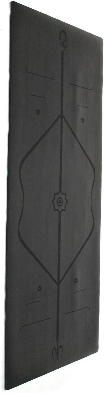 MSAKDNALA 1 Yogamatte Slip Line Ausrichtungslinie, verdickt, um schmerzhafte Knie, perfektes Yoga, Pilates und Fitness zu vermeiden,,