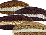 """Children love them; Wow your guests! These Amish-style snacks are individually wrapped and pack a wonderful homemade flavor Each whoopie is about 3"""" diameter in size; Homemade by the famous Bird-in-Hand Bake Shop on Gibbons Road in Lancaster County, ..."""
