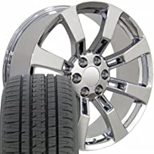 tahoe black chrome wheels