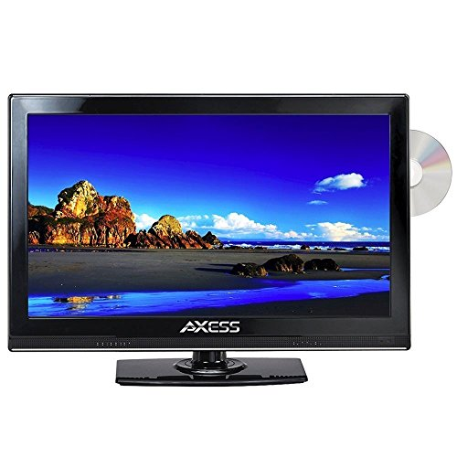 Buy Bargain Axess 15.4 LED AC/DC TV with DVD Player Full HD with HDMI, SD card reader and USB - 1 Ye...