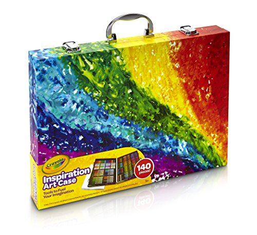 Crayola Inspiration Art Case Coloring Set, Easter Gift for Kids, 140 Art Supplies