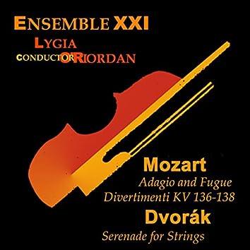 Mozart: Divertimenti - Dvořák: Serenade for Strings
