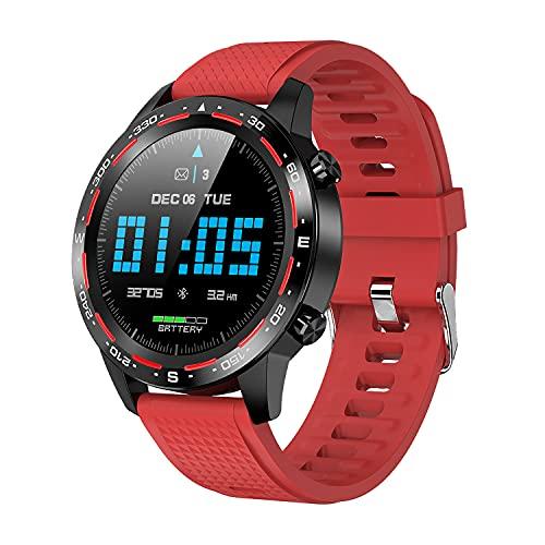 Reloj Inteligente, Rastreador De Actividad Con Bluetooth, Reloj De Actividad Con Pantalla Táctil De 1,3 ', Resistente Al Agua IP68, Contador De Calorías Por Pasos, Reloj Para Hombres Y Mujeres