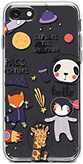 Kaidan iPhone 6 6s SE Panda Animals in Space 8 7 Plus Case X XR XS Max Samsung Galaxy Note 10 Plus 9 8 S10 S9 S8 Plus UFO A80 A70 Giraffe Penguin Google Pixel 3A Rocket Fox LG G8s Thinq Cosmos SaO239