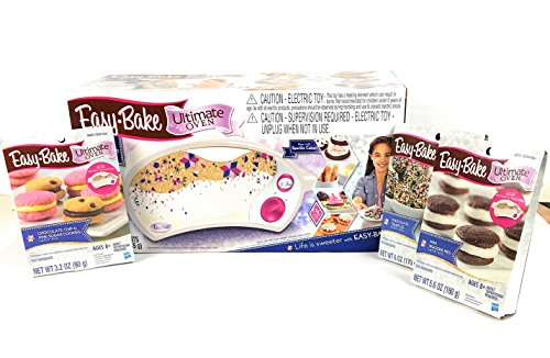 Easy Bake Ultimate Oven Super Star Treat Edition with 3 Mixes  (Total of 4 Items)
