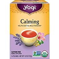 Yogi Tea - Calming (6 Pack) - Helps Soothe Mild Tension - 96 Tea Bags