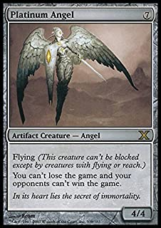 Magic: the Gathering - Platinum Angel (339/383) - Tenth Edition