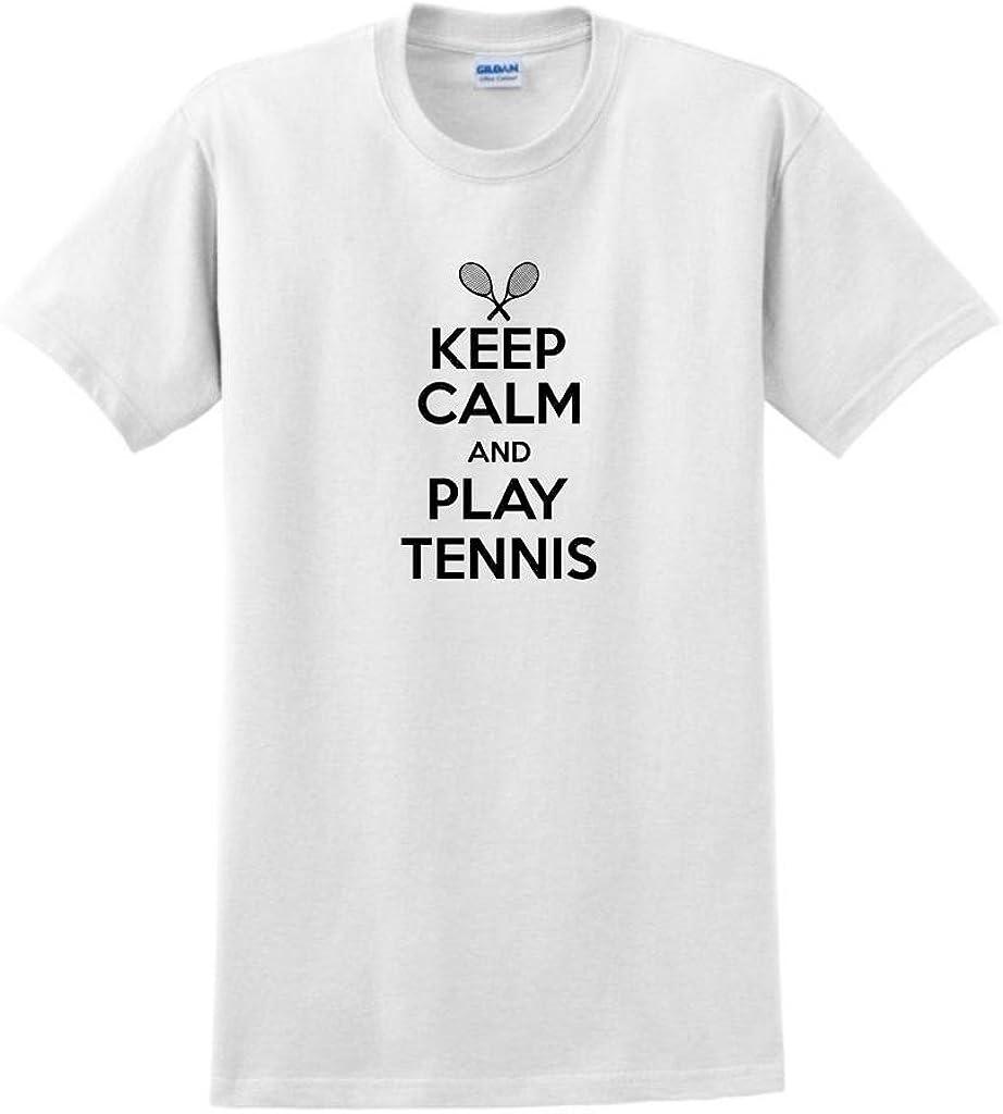 Keep Calm and Play Tennis-Enfants Sweat à Capuche Sport Wimbledon Nadal Murray Love Ball