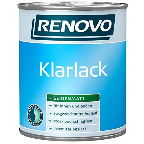 2,5 Liter RENOVO Klarlack matt für außen und innen