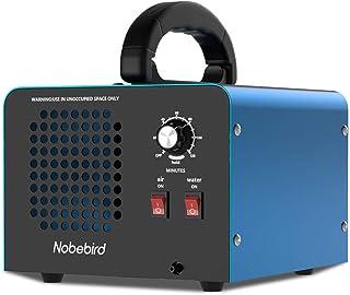 Nobebird Generador de ozono Purificador de Aire, 28000 MG/h Desodorizador de ozono con Modos de purificación de Aire/Agua,...