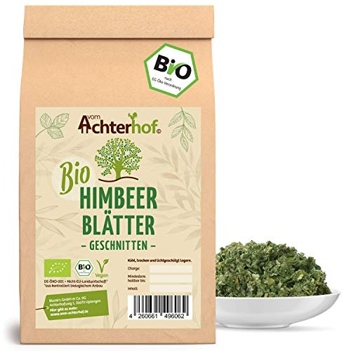 Himbeerblättertee BIO | 250g | 100% Bio Himbeerblätter Tee getrocknet ohne Zusätze | Schwangerschaft - Geburtsvorbereitung | vom Achterhof