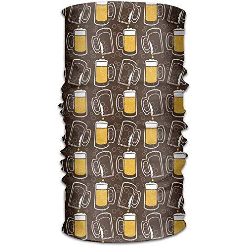 Drink Beer Cool Neck Gaiter Magic Hoofddeksels Hoofdband Gezicht Bandana Masker Sport Sjaal Neckwarmer Hoofddoek voor Vrouwen Mannen