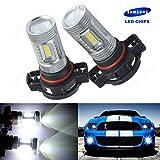 ANG Rong® 2x H16ps19W 52029009Samsung 15W LED Sidelight bombillas luz de conducción diurna xenón blanco