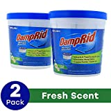 DampRid Refillable Moisture Absorbers are convenient 10.5-ounce cups that attract and trap excess moisture out of the air DampRid eliminates odors by absorbing excess moisture that creates damp, musty smells Great for use in a bathroom, laundry room,...