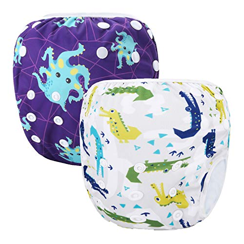 Storeofbaby Reutilizable Swim Nappies ajustable cubierta de