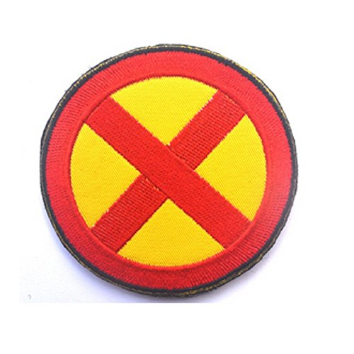 2' X-Men Storm Sew Iron on Jacket Costume Cosplay Patch by Ewkft (Red&Yellow)
