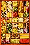 FXNB Puzzle 500 Adult Puzzle 1000 Piezas Niños Divertidos Alimentos Rompecabezas Juego Educativo Intelectual Difícil y Desafiante Puzzle 1500 Piezas