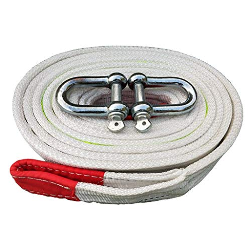 Best Prices! Tow Rope-Heavy Duty Tow Strap with Safety Hooks-Emergency Off Road Towing Rope-33069 lb...
