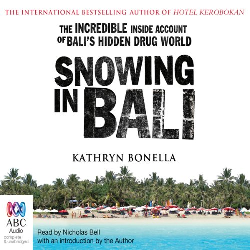 Snowing in Bali audiobook cover art