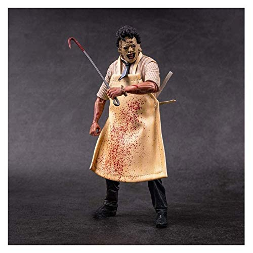 LIQIN Anime Action Figure Ultimate Leatherface PVC Model Toy Ornaments Collected Surprise Gifts 20CM
