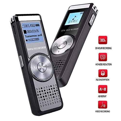 aibecy 8/GB DIGITALES DIKTIERGER/ÄT Recorder Audio Voice Recorder-Stimme Stereo Musik-Player MP3/mit Kopfh/örer