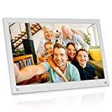 MRQ 15.6 Inch 16GB WiFi Digital Photo Frame with 1080P IPS Display Screen - Share Moments Instantly via App Email from Anywhere, Operation via Remote