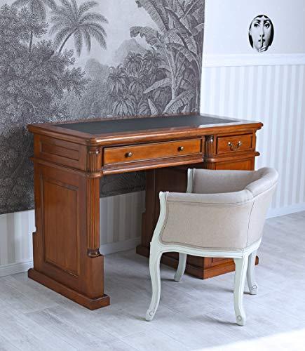 Unbekannt Schreibtisch Mahagoni Computertisch Massivholz Home Office PC Tisch mar168 Palazzo Exklusiv