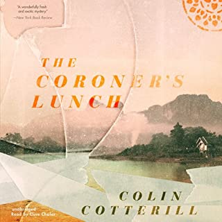 The Coroner's Lunch audiobook cover art