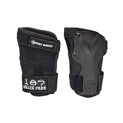 Killer Pads Schutzausrüstung Wristguard Derby, Schwarz, M