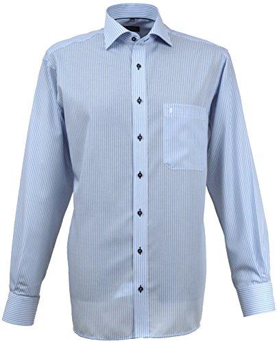 Eterna - Chemise business - Col Chemise Classique - Homme Bleu Bleu clair